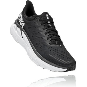 Hoka One One Clifton 7 Running Shoes Men, black/white
